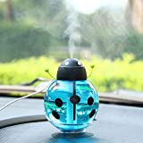 Cute Beetle-shaped Humidifier Smoked Light Protecting Air Humidifier (blue)