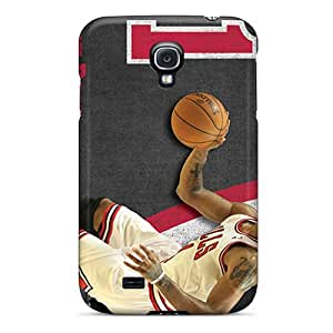High Quality Mobile Covers For Samsung Galaxy S4 With Allow Personal Design Colorful Chicago Bulls Series ErleneRobinson