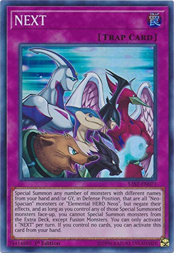 Yu-Gi-Oh! - Next - SAST-EN071 - Savage Strike - First Edition - Super Rare