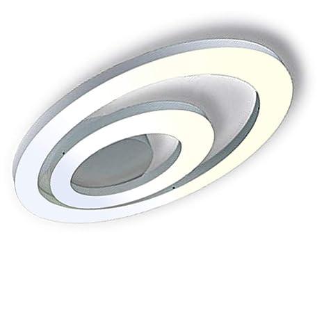 LED Lámpara de techo Moderno Sencillo Acrílico Lámpara de ...