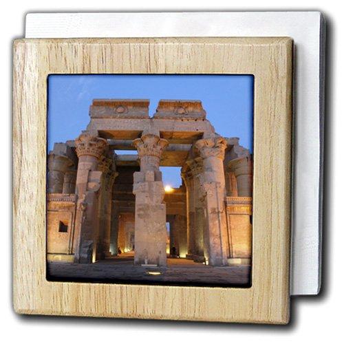 3drose Danita Delimont – Temples – エジプト、Sunset At Theエジプトの寺院のKom Ombo。 – タイルナプキンホルダー 6