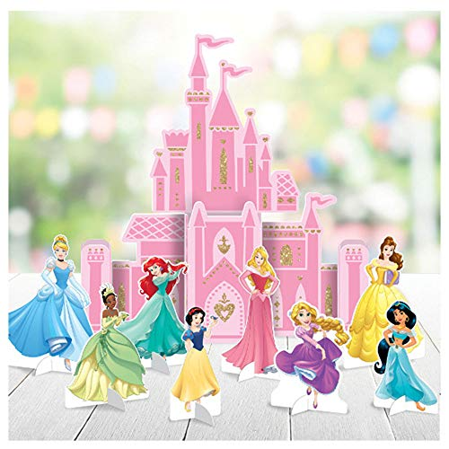 (Disney Princess 'Once Upon a Time' Deluxe Table Decorating Kit (9pc))