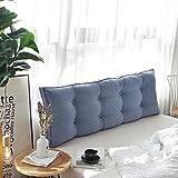 FRI Japanese cotton Bed cushions,Double long pillow tatami waistguard -K 150x50cm(59x20inch)