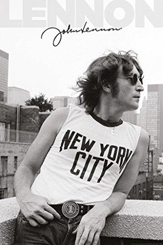 Pyramid America John Lennon NYC Profile Music Poster 24x36 inch