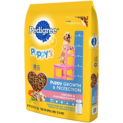 Pedigree Puppy Growth Protection Chicken Vegetable Flavor Dry