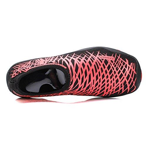 Shoes amp; Red PURVIS Quick Barefoot Black Women Water Men Dry Aqua THvrT8n