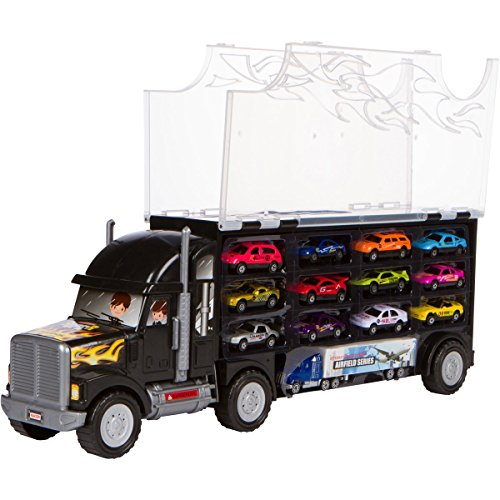 Large Toy Trucks For Boys : Big truck carrier toy for boys and girls years old