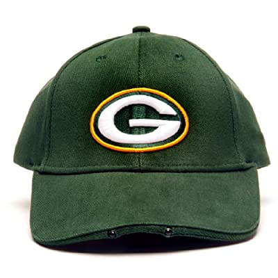 NFL Green Bay Packers Dual LED Headlight Adjustable Hat