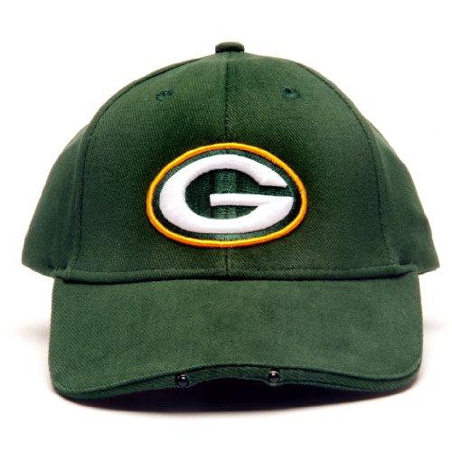 NFL Green Bay Packers LED Light-Up Logo Adjustable Hat
