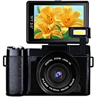 Digital Camera 24.0 MP Vlogging Camera Full HD 1080P 3.0...