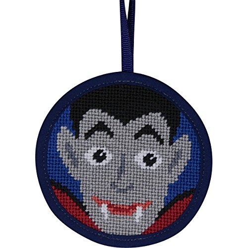 Alice Peterson Stitch-Ups Dracula Vampire Needlepoint Ornament Kit 7028