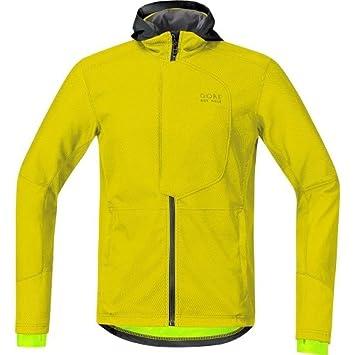Gore Bike Wear Jwmele Element Urban Windstopper Soft Shell Chaqueta, Hombre, Amarillo (Sulphur Yellow), S: Amazon.es: Deportes y aire libre