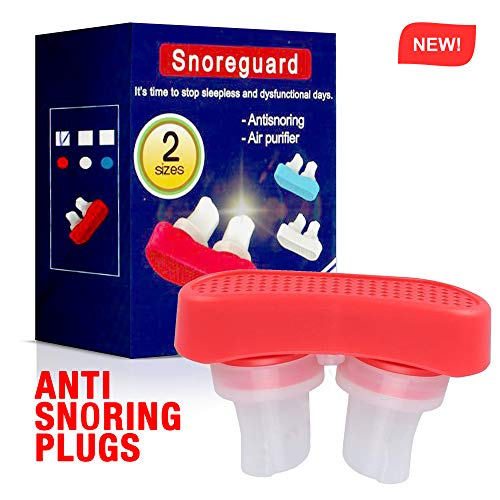 Anti Snore Devices, Snoring Relief & Breathing Air Purifier, Nose Vents Nasal Dilator, Snore Stopper for Comfortable Sleeping