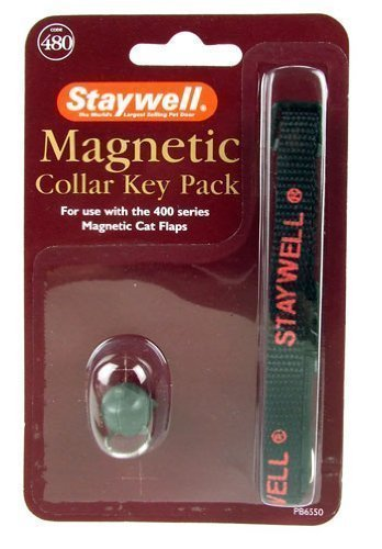 Staywell Magnetic Cat Collar Key Pack (Staywell Replacement Flap)