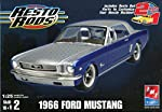 AMT Resto Rods 1966 Ford Mustang 1:25 Scale Model Building Kit Skill Level 2 by AMT Ertl