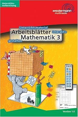 Arbeitsblätter Mathematik Klasse 3. CD-ROM für Windows ab 95/NT ...