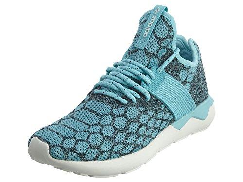 adidas-Mens-Tuburlar-Runner-Primeknit-Running-Shoes-Blue-Spirit-Black-Sz-85