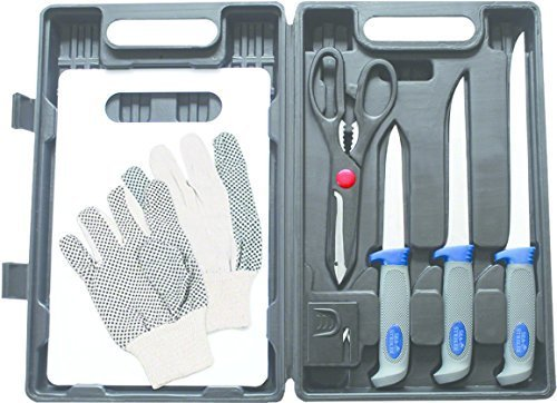 - Sea Striker Fillet Kit with Carrying Case (8 Piece)