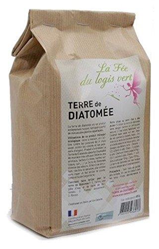 Eco-conseils Terre de Diatomée Alimentaire (pour Animaux) 2Kg - Protecteur et Insecticide Alimentaire Biologique - Emballage 100% écologique … (2kg)