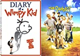 The SANDLOT & Diary of a Wimpy Kid - DVD Movie Combo Family kids fun set