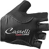 Castelli Rosso Corsa Pave Glove - Women's Black, M