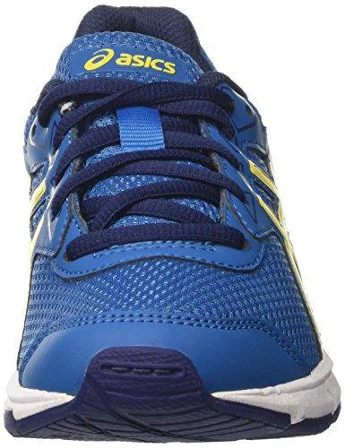 Asics Gel-Galaxy 9 Gs, Zapatillas de Running para Niños Varios colores (Thunder Blue / Vibrant Yellow / In)