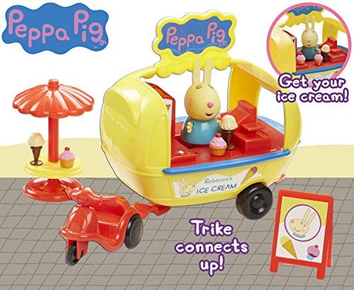 Peppa Pig Carrito De Los Helados De Rebecca Rabbit Playset Bandai