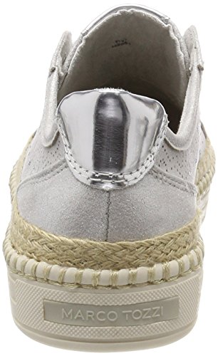 Silver Sneakers Tozzi Marco Basses Femme 23760 dqY44xX