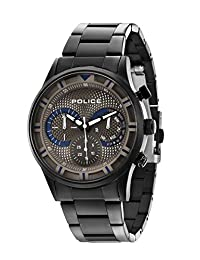 Police Men's PL14383JSU61M Casual Driver Multifunction Watch with Date