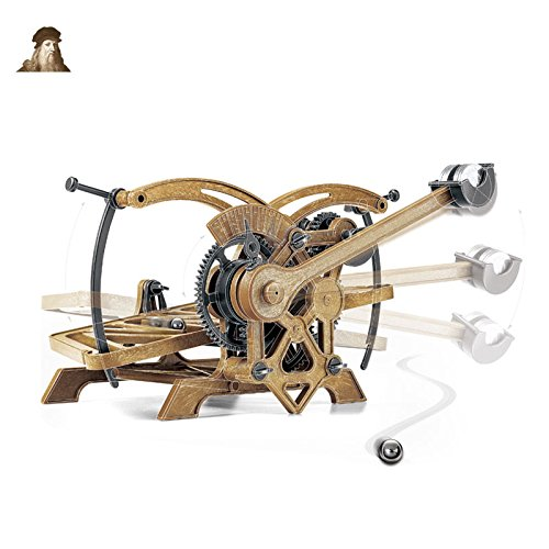 Da Vinci Series - Da Vinci Rolling Ball Timer - Da Vinci Machines Series Kit by Academy #18174