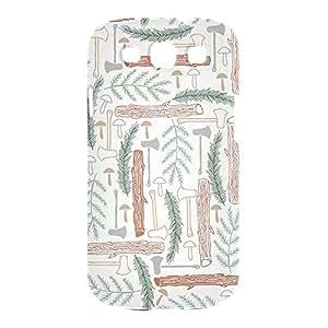 Green Wild Samsung S3 3D wrap around Case - Design 5