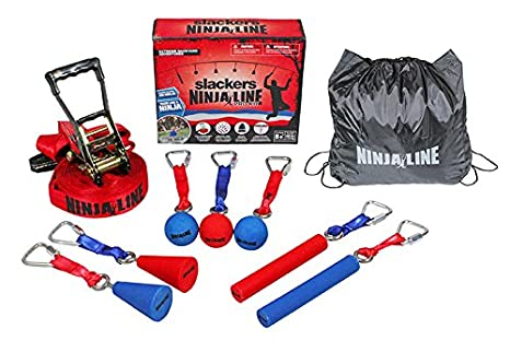 SLACKERS Pro Kit Parcours Ecuestre Colgante de Ninja Line ...