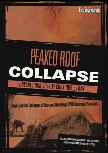 Collapse of Burning Buildings Part 2: Peaked Roof Collapse