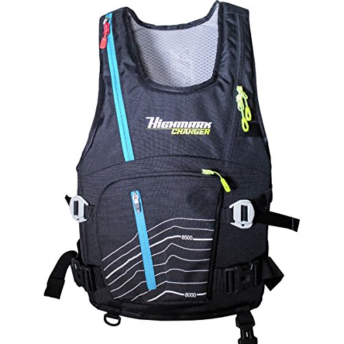 Snowpulse Highmark Vest Removable Airbag 3.0 One Color, S/M by Snowpulse