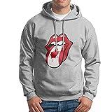MC Club Men's Hoodie Life Guard Sweatshirt- The Rolling Stones Canada Flag