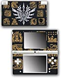 Monster Hunter 4 Ultimate Generations 3 World Video Game Vinyl Decal Skin Sticker Cover for Nintendo DSi System