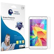 "Galaxy Tab 4 Screen Protector, Tech Armor Anti-Glare/Anti-Fingerprint Sasmsung Galaxy Tab 4 - 7"" Film Screen Protector [3-Pack]"