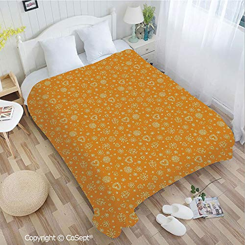 PUTIEN Luxury Flannel Blanket,Sketchy Figures Cheerful Composition Kids Playroom Nursery Wall Decor Nature Print,fit Couch Sofa Suitable for All Season(72.83
