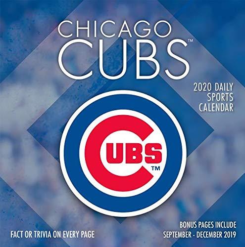 Cubs 2020 Schedule.Chicago Cubs 2020 Box Calendar Lang Companies
