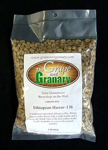 Ethiopian Harrar unroasted Coffee Beans (1LB)