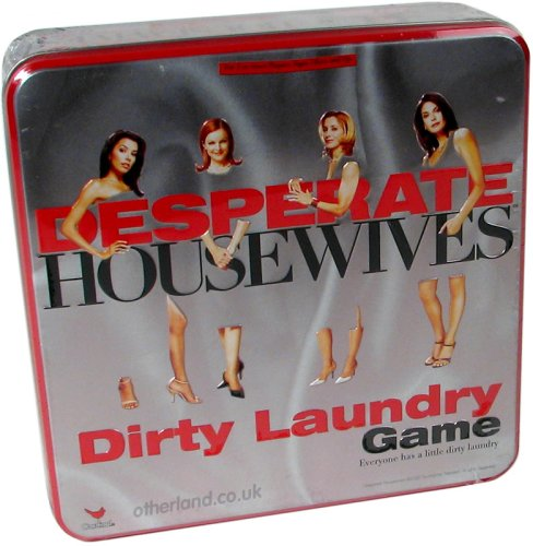 Cardinal Industries Desperate Housewives Dirty Laundry Game