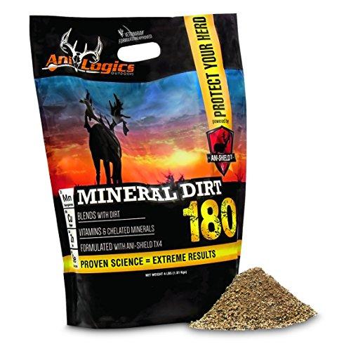 ANI-Logics Mineral Dirt 180, Deer Supplement, 4 Lb. Bag by ANILOGICS