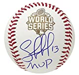 "Kansas City Royals Salvador Perez Autographed 2015 World Series""MVP"" Baseball JSA Auth"