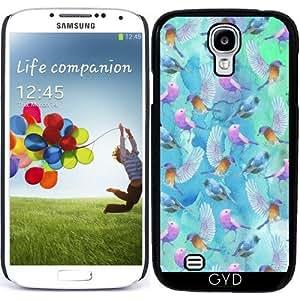 Funda para Samsung Galaxy S4 (GT-I9500/GT-I9505) - Los Pájaros Que Vuelan En Azul by UtArt