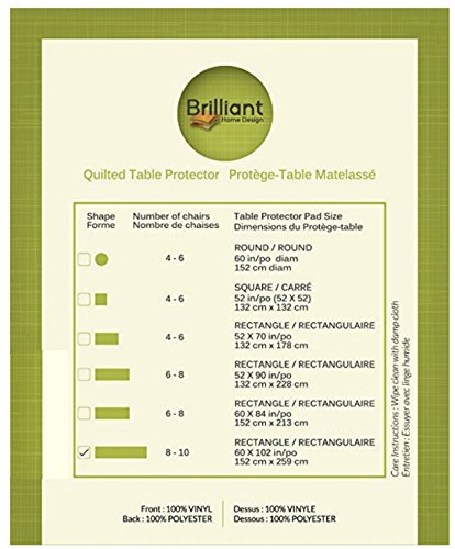 First Quality Quilted Table Protectors - Quilted Dining Table Pad ... : quilted table protector - Adamdwight.com