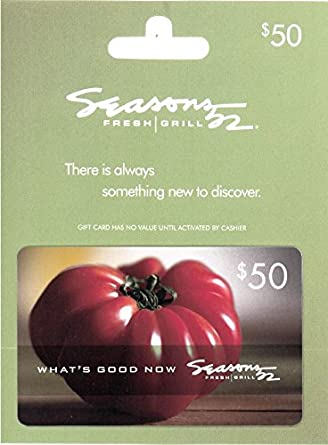 Amazon.com: Seasons 52 $50 Gift Card: Gift Cards