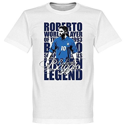 Baggio Legend-Maglietta, colore: bianco