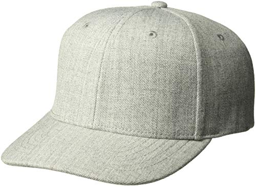 newest collection e2753 d18f0 Ouray Sportswear Heavy D Cap, Heather Grey, Adjustable