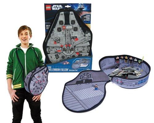 Lego Star Wars A1492XX - Zipbin Millennium Falke Tragetasche mit Spielmatte groß