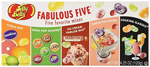 (Jelly Belly Fabulous Five Gift Box)